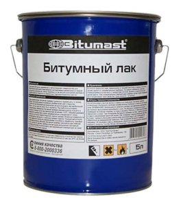 Лак битумный Bitumast 21,5 л