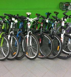 Большой выбор велосипедов