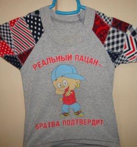 футболки на 1-2 года