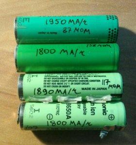 Li-ion аккумулятор 18650