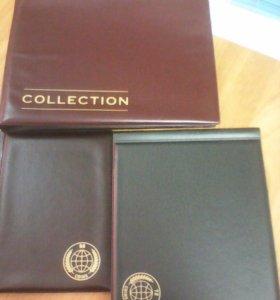 Альбомы для коллекции монет.