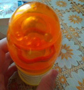 Новая бутылочка с погремушкой