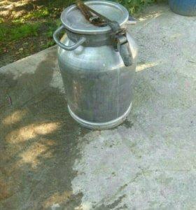 Бедон 40 литров алюминевый