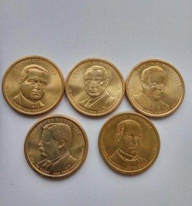 Доллар США Президенты.