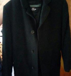 Пальто с цигейковым воротом