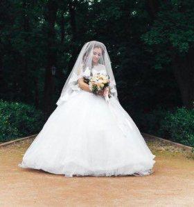 Самое пышное свадебное платье❤️
