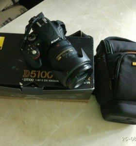 Nikon D5100 (18-200мм)
