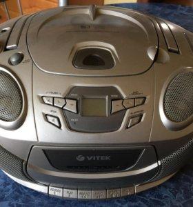Магнитола mb3/cd Vitek