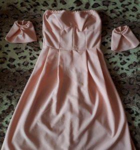 Платье, р-р 46-48