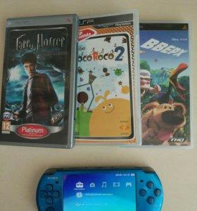 PSP 3000 Blue