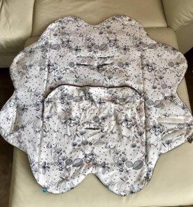 Одеяло-лепесток Wallaboo