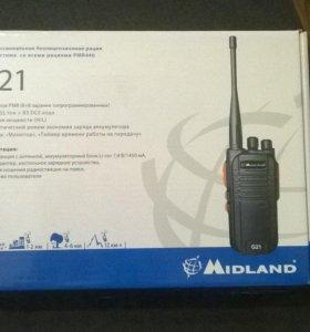 Рация Midland G21 (Новая)