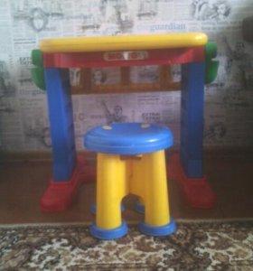 Детский стол + стульчик