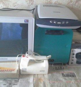 Ноутбук Acer + принтер, сканер, монитор и др.
