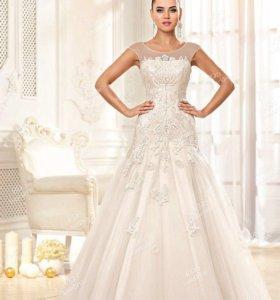 НОВОЕ свадебное платье+аксессуары