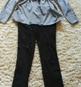 Блузка и брюки для беременных