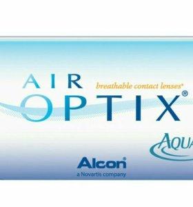 Контактные линзы AIR OPTRIX AQUA