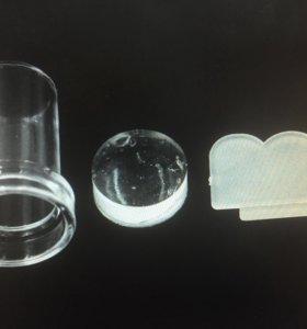 Стампер скребок пластиковый зефир