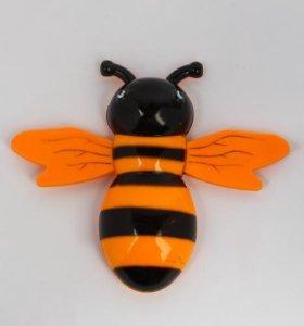 термометр уличный пчелка