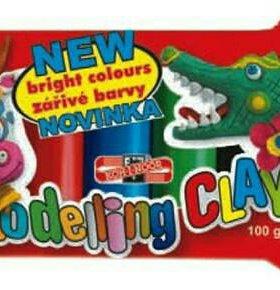 """Modelling clay.Пластилин """"Koh-i-Noor"""", 5цв."""