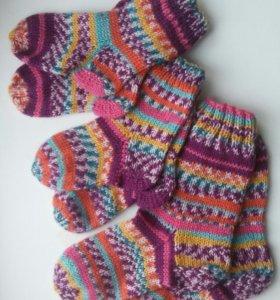 Носочки вязанные