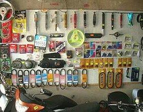 Расходники для японских скутеров