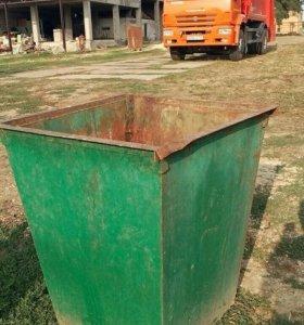 Мусорные контейнеры 0.75 куба