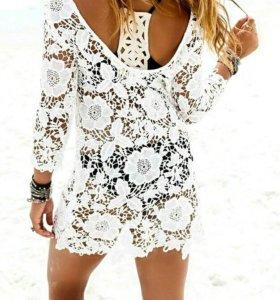 Платье пляжное туника