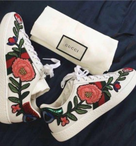 Кроссовки Gucci(нат.кожа)