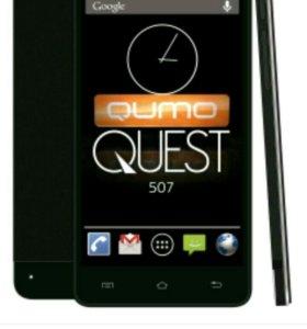 Сенсорное стекло к qumo quest 507