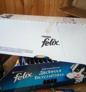 Корм для кошек Purina Felix