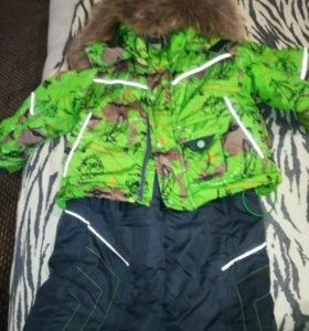 Продам костюм зимний на мальчика р 80