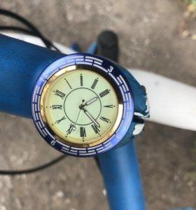 Часы на вынос руля велосипеда
