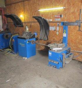 Оборудование для грузовой и легковой шиномонтажа