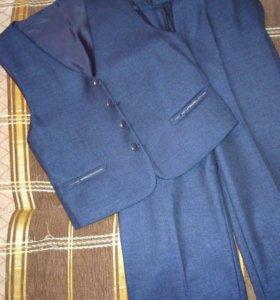 Костюм двойка ( брюки, жилетка)