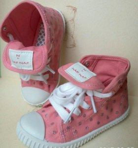 Кеды новые Naf Naf детские 25 рр обувь