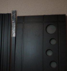 дверь плёнка пвх цвет венге
