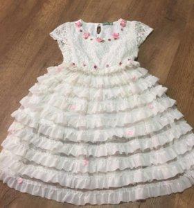 Платье нарядное 1-2 года
