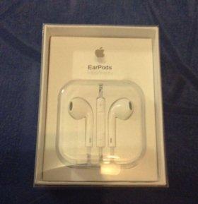 Оригинальные наушники Apple EarPods для iPhone