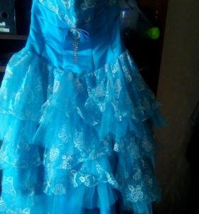Пышное выпускное ( вечернее )платье