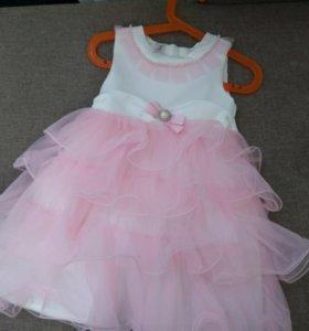 Платье праздничное, рост 92