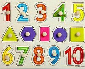 Сортер цифры