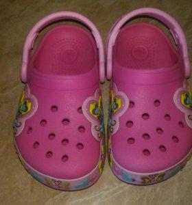 Crocs оригинал сандали босоножки светодиодные
