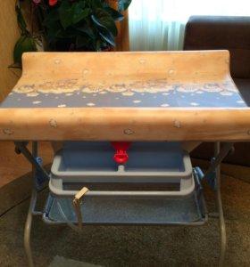 Пеленальный столик + ванночка Prenatal
