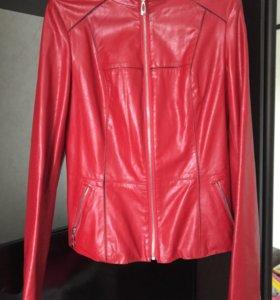 Куртка кожаная Max Mane новая р 44