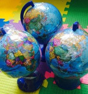 Глобус, диаметр 12см