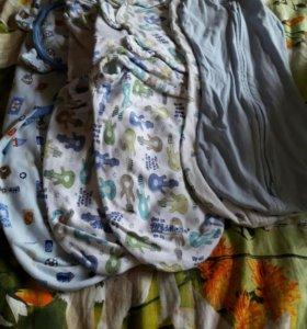 Пеленка-кокон на молнии и липучках
