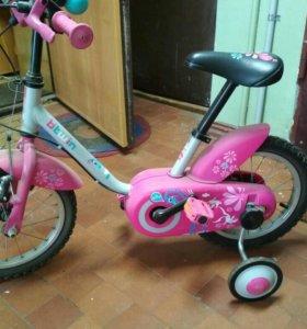 Bitwin велосипед детский девочкам