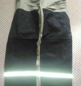 Спилковые брюки сварочные.