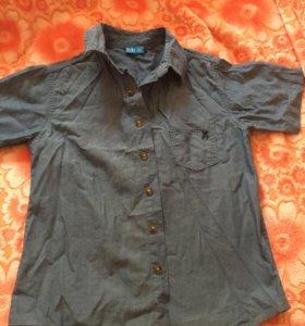 Джинсовая рубашка 116 рост